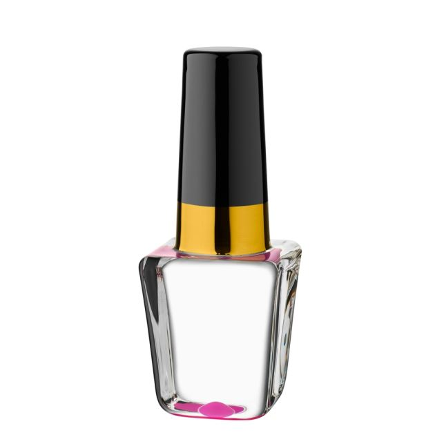 Kosta Boda Make Up Mini Nailpolish (cerise),5 x 2 in.