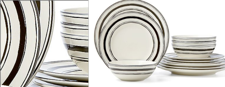 Lenox around the table stripes for Table 6 lenox