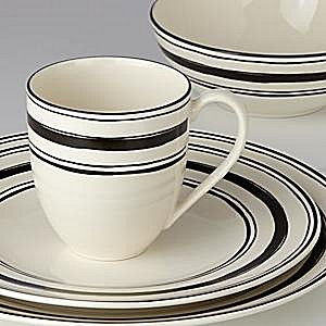 LENOX AROUND THE TABLE STRIPES Dinnerware