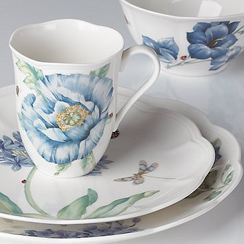 LENOX BUTTERFLY MEADOW BLUE Dinnerware