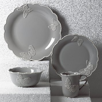 LENOX BUTTERFLY MEADOW SLATE Dinnerware