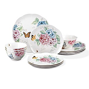 LENOX BUTTERFLY MEADOW HYDRANGEA Dinnerware