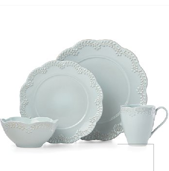 LENOX CHELSE MUSE FLORAL BLUE Dinnerware