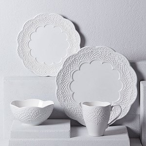 LENOX CHELSE MUSE SCALLOP WHITE Dinnerware