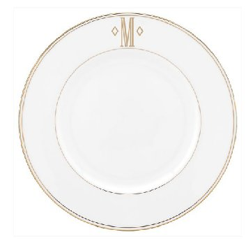 LENOX FEDERAL GOLD MONOGRAM SCRIPT Dinnerware