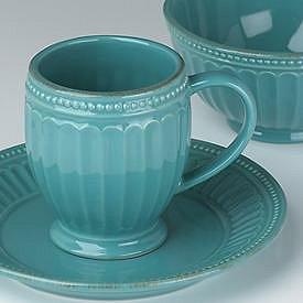 LENOX FRENCH PERLE GROOVE BLUEBELL