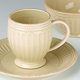 LENOX FRENCH PERLE GROOVE BUTTER