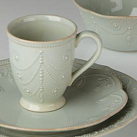 LENOX FRENCH PERLE ICE BLUE Dinnerware