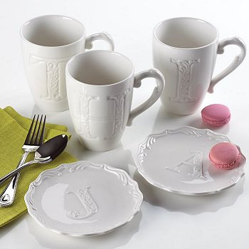 Lenox Initially Mine Monogrammed Giftware