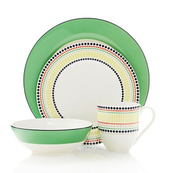 Kate Spade China Dinnerware Plates | ChinaRoyale. Kate Spade China Dinnerware Plates ChinaRoyale  sc 1 st  Best Image Engine & Interesting Kate Spade June Lane Gold 5 Piece Place Setting ...