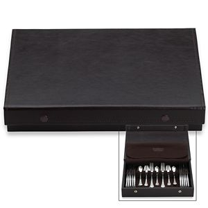 REED AND BARTON MODERN HOSTESS SILVER CASE
