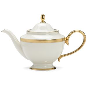 Lenox  LOWELL A/I DW TEA POT W/LID 40 oz