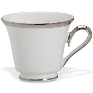 Lenox  SOLITAIRE WHITE DW TEA CUP 6 oz
