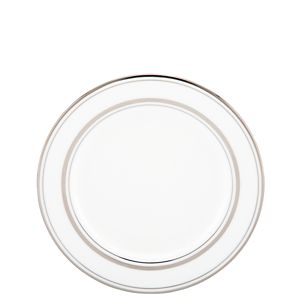 Kate Spade LIBRARY LANE PLATINUM BUTTER PLATE