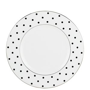 Kate Spade LARABEE RD BLACK ACCENT PLATE
