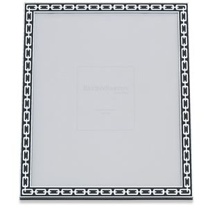 REED AND BARTON SILVER LINK FRAME 8X10 MIDNIGHT