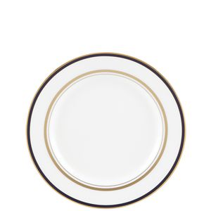 Kate Spade LIBRARY LANE NAVY DW BUTTER PLATE