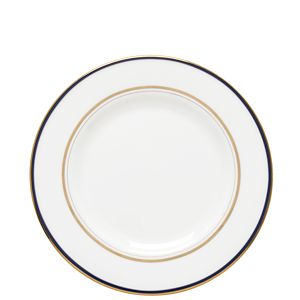 Kate Spade LIBRARY LANE NAVY SALAD PLATE 8 IN