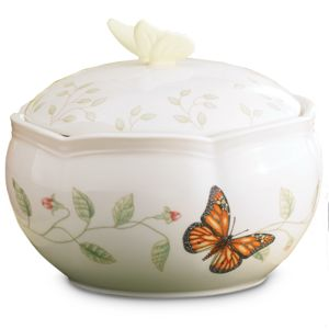 Lenox  BUTTERFLY MEADOW COVERED BOX 4 h
