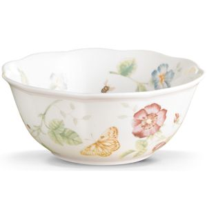 Lenox  BUTTERFLY MDW DW LG ALL PURPOSE BOWL 6.75 d,26 oz
