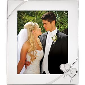 Lenox TRUE LOVE SILVER PLATED FRAME 8X10