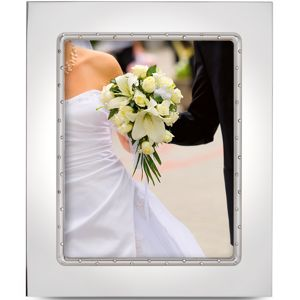 Lenox DEVOTION SILVER PLATED FRAME 8X10