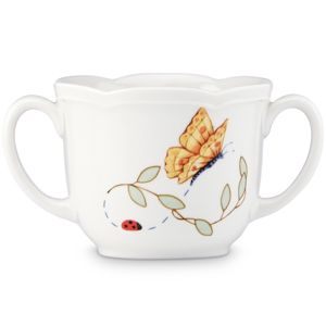 Lenox  BUTTERFLY MEADOW BABY CUP 2.75 h,6 oz