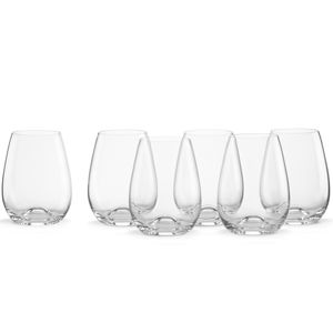 Lenox  TUSCANY CLASSIC AP STEMLESS WINE S/6 B4G6 4.5 in h,15 oz