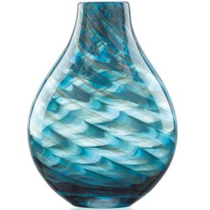 Lenox  SEAVIEW SWIRL BOTTLE VASE 11.0 11.0 h