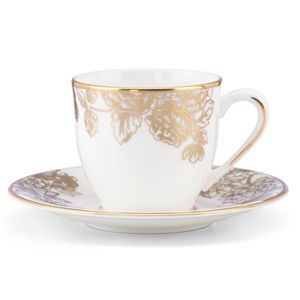 Marchesa GILDED FOREST DW ESPRESSO CUP/SAUCER