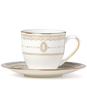 Marchesa GILDED PEARL DW DEMI CUP/SAUCER
