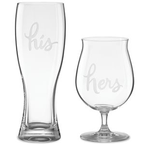 Kate Spade TWO OF A KIND HIS & HERS BEER SET
