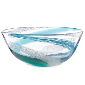 Lenox  SEAVIEW BUBBLE SWIRL BOWL 9 in d
