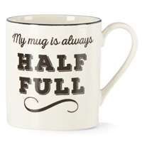 Lenox  AROUND THE TABLE DW ALWY HLF FULL MUG 12 oz