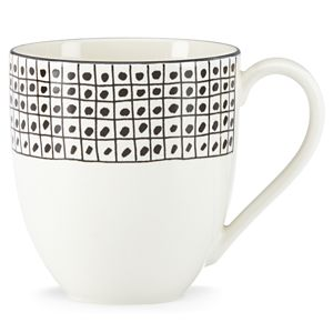 Lenox  AROUND THE TABLE DOTS DW MUG 14 oz