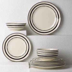 Lenox  AROUND THE TABLE STRIPES DW 12PC SET