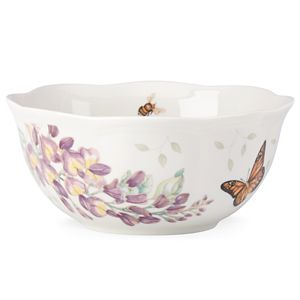 Lenox  BUTTERFLY MDW DW ICE CREAM BOWL 6.5 in. d,30 oz.