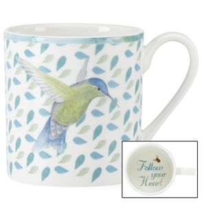 Lenox BUTTERFLY MEADOW FOLLOW YOUR HEART MUG