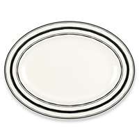 Lenox  AROUND THE TABLE STRIPES DW PLTR 16 16 l