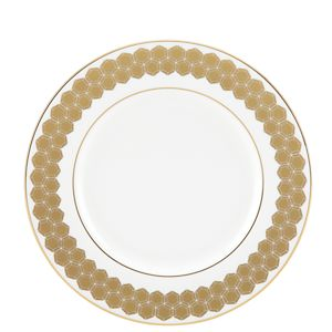Lenox  PRISMATIC GOLD DW ACCENT PLATE 9.0 9.0 d