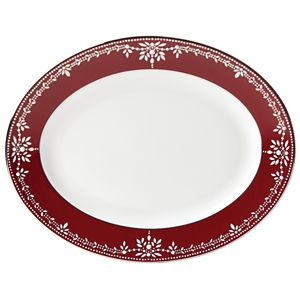 Marchesa EMPIRE PEARL WINE DW OVAL PLATTER 13