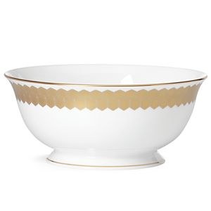Lenox  PRISMATIC GOLD DW SERVING BOWL 8.5 d,56 oz