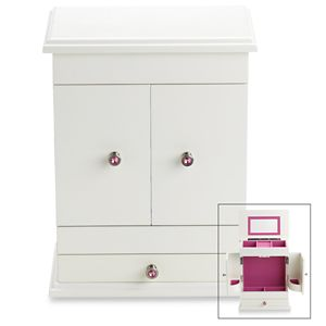 REED AND BARTON PERSONALIZED BELLA JEWELRY CHEST