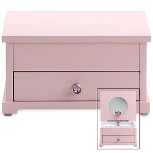 REED AND BARTON PERSONALIZED FAIRY PRINCESS MUSICAL JEWELRY BOX