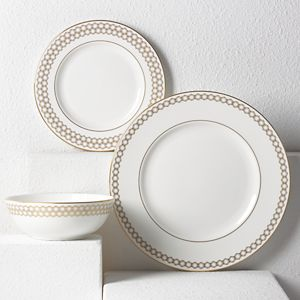 Lenox  PRISMATIC GOLD DW 3 PIECE PLACE SETTING