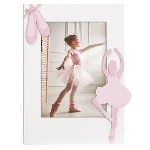 REED AND BARTON BALLERINA WOOD FRAME 5X7