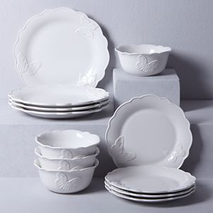 LENOX BUTTERFLY MEADOW VANILLA Dinnerware