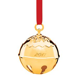 REED AND BARTON HOLLY BELL 2017  - GOLDPLATED