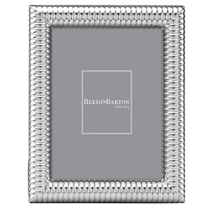 REED AND BARTON PALIZZI STAINLESS STEEL 5X7 FRAME