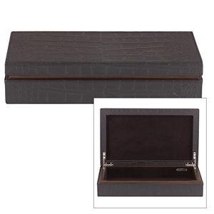 REED AND BARTON GRIFFIN MEDIUM LEATHER ALL PURPOSE BOX